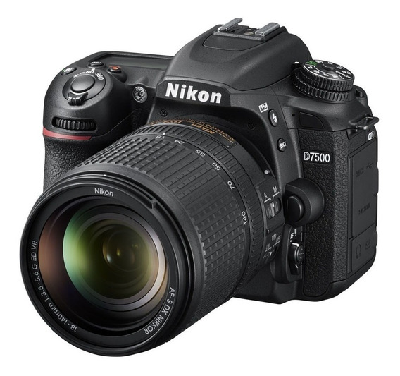 Nikon D7500 Kit 18-140 Reflex 21mp 4k Wifi Bluetooth Camara