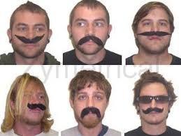 6 Formas De Bigode Em 1 - 6 Way Mustache