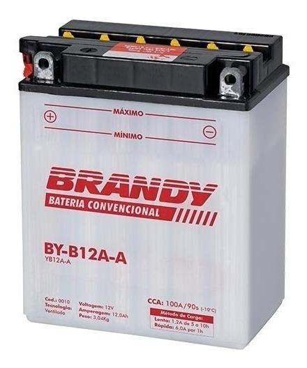 Bateria Para Quadriciclo By-b12a-a Brandy