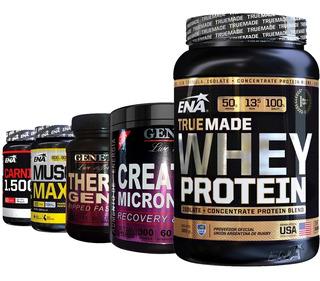 Combo Crecimiento Musculos Definidos Energia + Proteina Whey