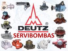 Reparación De Bombas De Agua Automotrices Deutz Guatemala