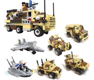 Lego Militar 6en1 Seal Team Juguetes Niños 368ps Legos 23108