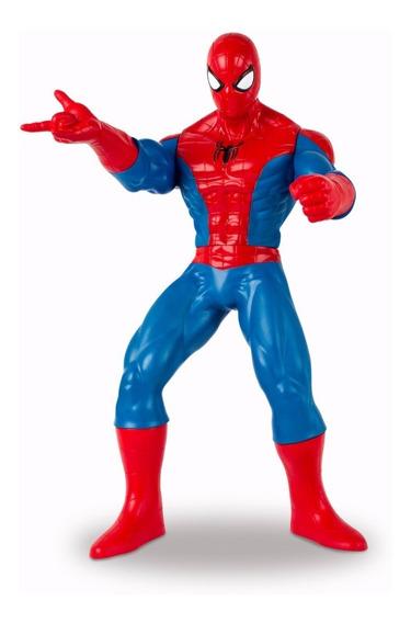Muñeco Semi Articulado Spiderman Marvel Original 48cm Full