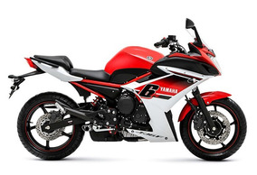 Yamaha Xj 6 F - Carenada - Vermelha - Com Apenas 6.715 Km.