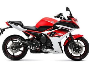 Yamaha Xj 6 F - Carenada - Vermelha - Com Apenas 7.350 Km.