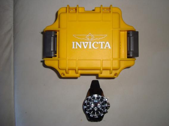 Relógio Invicta Aviator Mod. 20375, Preto, Á Prova D´água