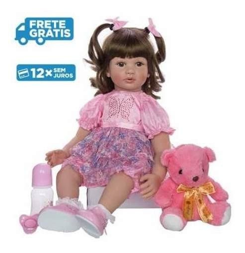 Bonecas Reborn Keiumi Fashionista 12x S/ Juros