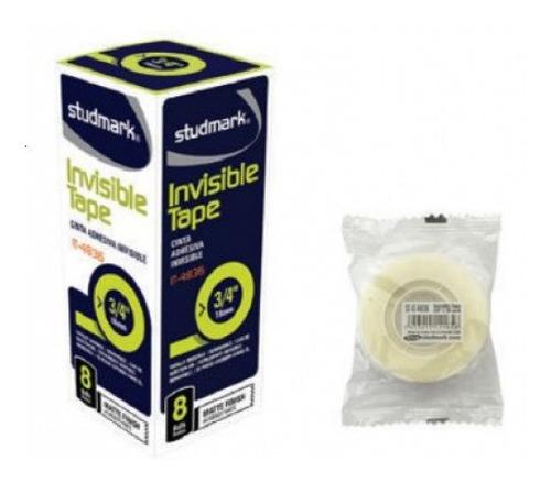 Cinta Adhesiva Invisible 18 Mm X 25 Mts