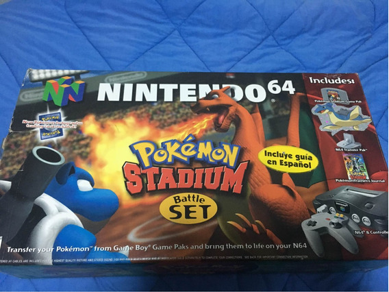 Nintendo 64 Pokémon Stadium Set