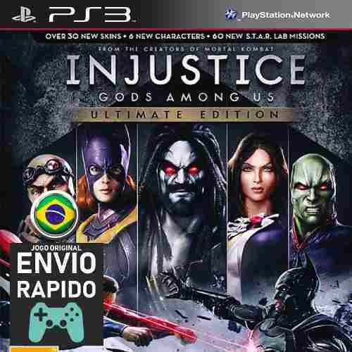 Injustice Gods Among Us Ultimate Edition Jogos Ps3