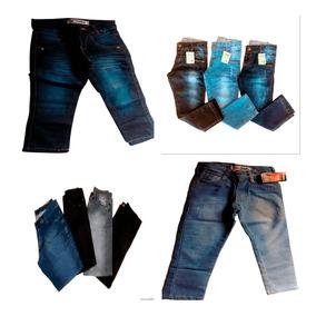 Kit 20 Calça Jeans Infantil Marca Slim Skinny Casual Top