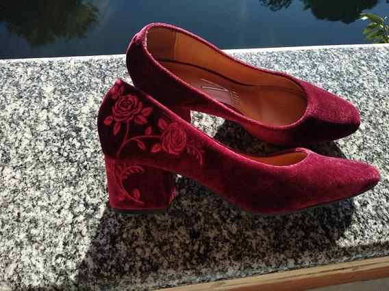 Sapato Vizzano Veludo