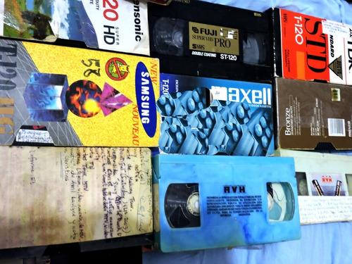 Casettes De Video Grabados