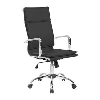 Cadeira De Escritório Presidente Eames Comfort Preta