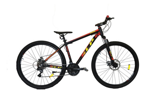 Bicicleta Mountain Bike Rodado 29 Slp 25 Pro Cambios Shimano Frenos A Disco Llanta Doble Pared Suspension Varon Mujer Hb