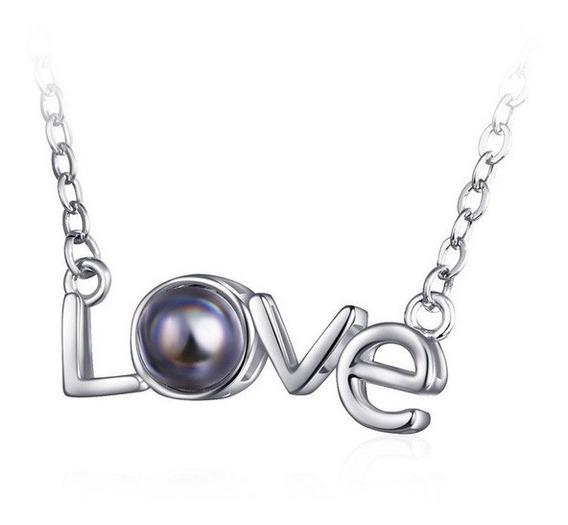 Colar Love - Eu Te Amo Em 100 Idiomas