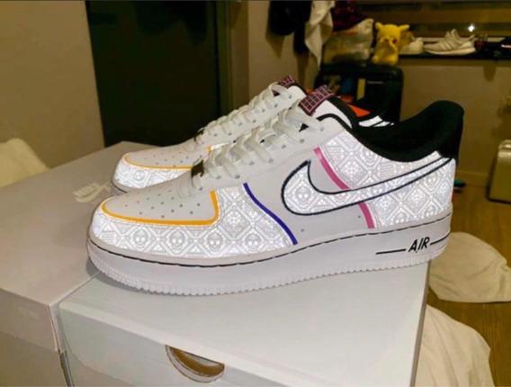 Nike Af1 Día De Muertos