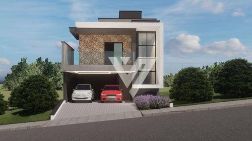 Imagem 1 de 16 de Sobrado Com 3 Dormitórios À Venda, 150 M² Por R$ 750.000,00 - Condomínio Terras De São Francisco - Sorocaba/sp - So1423