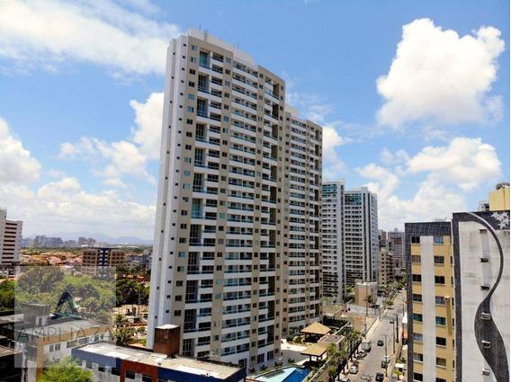 Apartamento Com 3 Dormitórios Para Alugar, 80 M² Por R$ 2.200,00/mês - Cocó - Fortaleza/ce - Ap0560