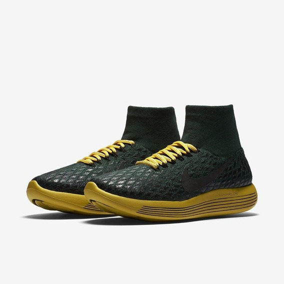 Tênis Nikelab Gyakusou Lunarepic Flyknit Shield Green Origin