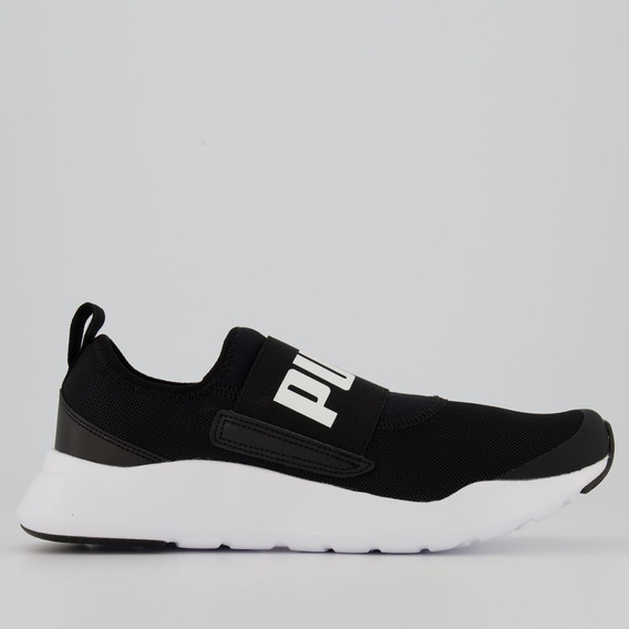 Tênis Puma Wired Slip-on Preto