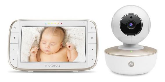 Baby Monitor Motorola Lcd 5 Pulg Wifi Mbp855 - Motorola