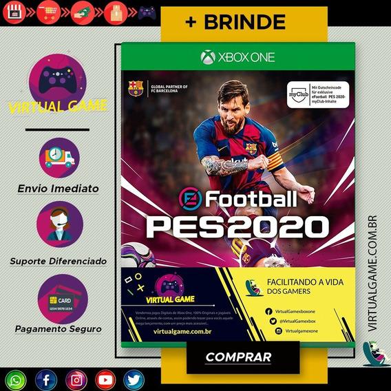 Pes 20 - Jogo Xbox One - Ja Disponível Pra Download + Brinde
