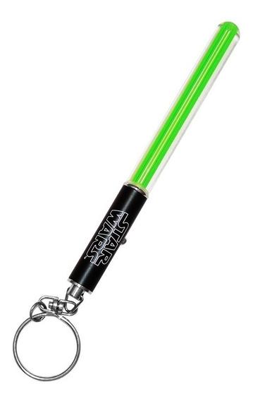Chaveiro Sabre De Luz Verde Star Wars
