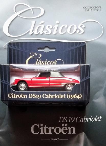Autos Clasicos Clarin - Fasiculo 18 - Citroen Ds19 Cabriolet