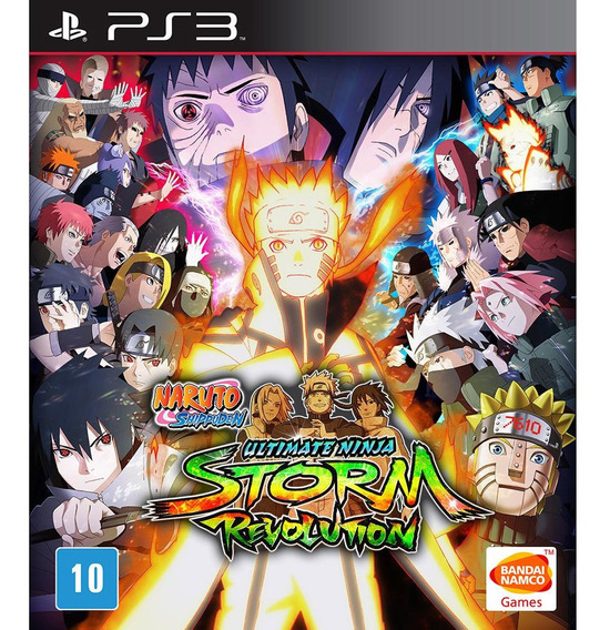 Naruto Shippuden Ninja Storm Revolution Psn Legendado Ps3