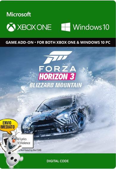 Montanha Nevasca Forza Horizon 3 Cód. 25 Dígitos (ice Games)