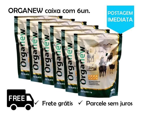 Caixa Com 6 Organew 1 Kg Probiótico/prebiótico Vetnil