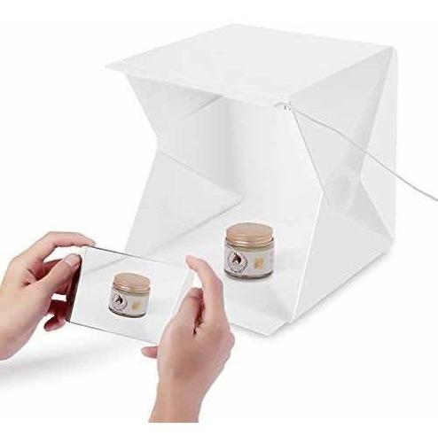 Imagen 1 de 5 de Caja Luz Led Fotografia Cubo Fotografico Plegable Box