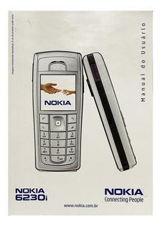 Manual De Usuário Celular Nokia 6230i Raridade Envioja 6230i
