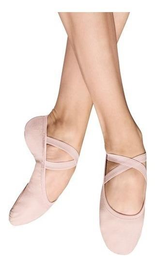 Zapatillas De Ballet 100% Piel Tallas 15 A La 28 Mx