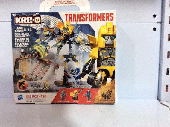 Transformers Kre-o Fuga Da Jaula Ref A6951