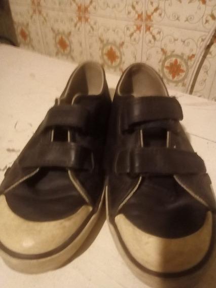 Zapatillas De Cuero Topper