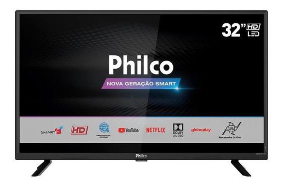 Tv Led Philco Ptv32g52s 32 Bivolt Preta