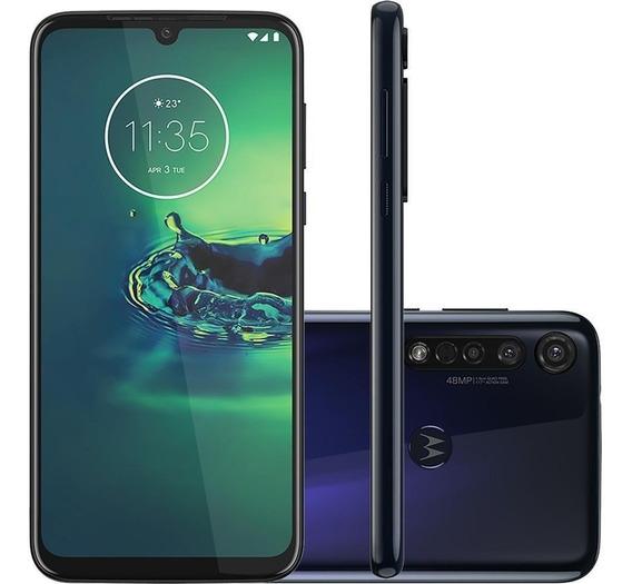 Celular Motorola Moto G8 Plus Xt2019 Dual 64gb Azul Safira