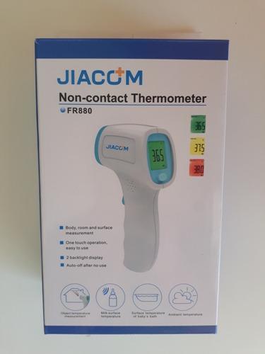 Termometro Digital Sin Contacto Jiacom Fr880 Mercado Libre Il termometro digitale ad infrarossi consente di ottenere una misurazione veloce ed accurata della temperatura corporea tramite lettura frontale senza contatto. termometro digital sin contacto jiacom fr880