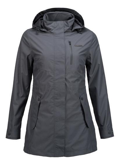 Chaqueta Mujer Lippi Element B-dry Hoody Jacket Grafito I19
