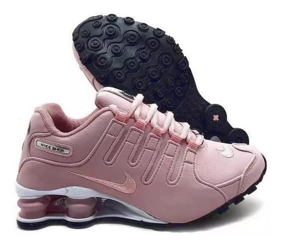 Tenis Nike Shox Nz 4 Molas Eu. Promoção Dia Dos Pais!
