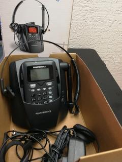 Teléfono Inalámbrico Analógico Con Diadema Plantronics