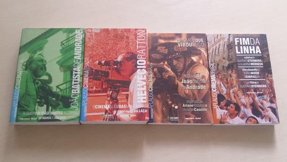Coleção Aplauso Cinema Brasil - 4 Livros Em Bom Estado