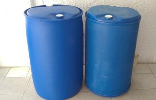 Pipas O Tambor Plastico De 210 Litros.