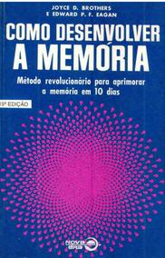 Como Desenvolver Memória - Joyce D. Brothers - No Cartão