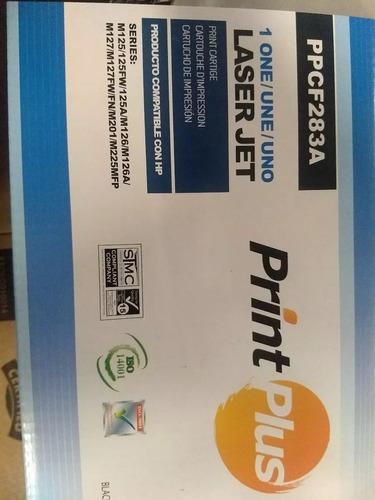 Toner Print Plus Hp 83a Pp283a Negro M127nf