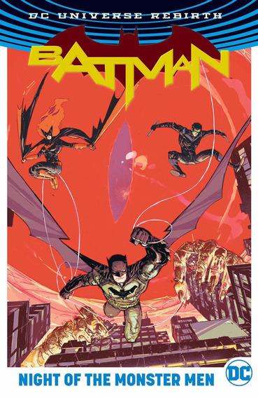 Batman Night Of The Monster Men Hc Rebirth (2017) Dc Comics