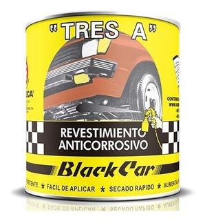 Pintura Asfáltica Anticorrosiva Automotriz Black Car 1/4galo