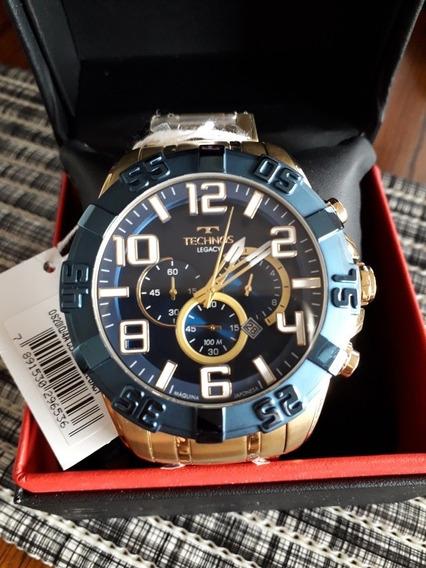 Relógio Technos Legacy, Os20.iq, Dourado Novo Na Caixa!